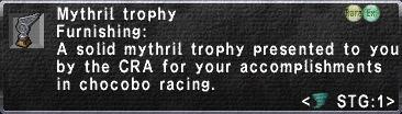 Mythril Trophy
