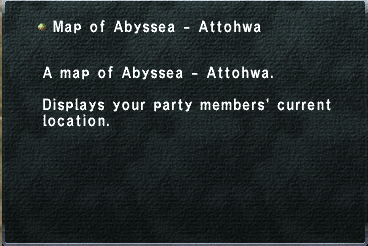Map of Abyssea - Attohwa