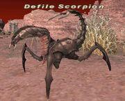 Defile scorpion