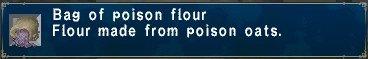 Poison flour