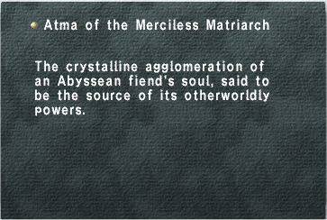 Atma of the Merciless Matriarch