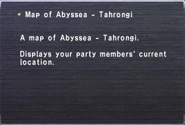 Map of abyssea tahrongi