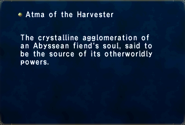 Atma of the Harvester