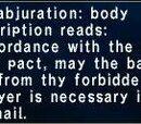 Wyrmal Abjuration: Body