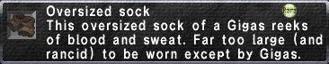 Oversized Sock