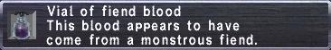 Vial of fiend blood