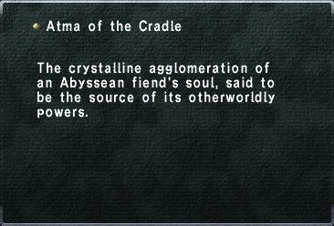 Atma of the Cradle
