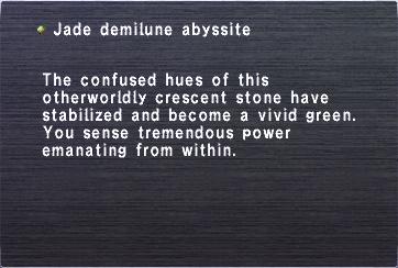 Jade demilune abyssite