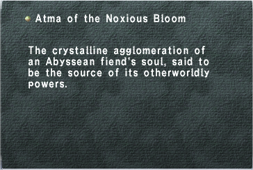 Atma of the Noxious Bloom