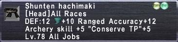 Shunten hachimaki