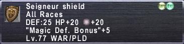 Seigneur shield