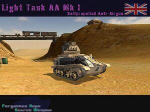 Light Tank AA Mk I