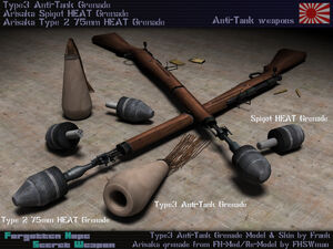 Type 2 AT Rifle Grenade Launcher
