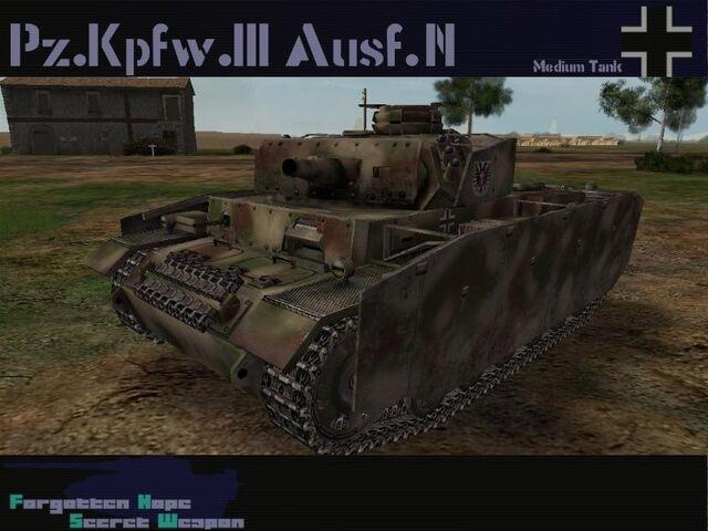 File:Pzkpfw III Ausf N.jpg