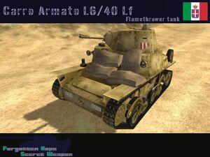 Carro Armato L6 40 lf