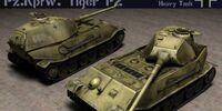 Panzerkampfwagen Tiger P2 (VK 4502 (P) Ausf. B)