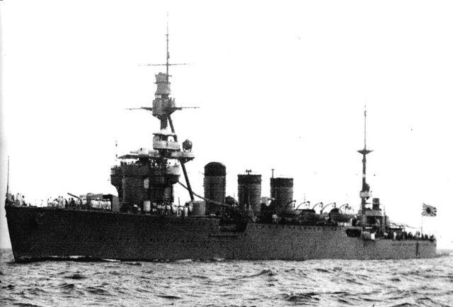 File:Kuma-class light cruiser (IJN Kitakami).jpg