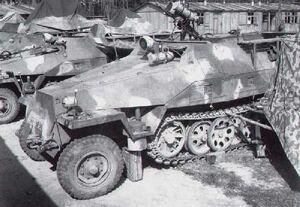 Sd Kfz 251-20s