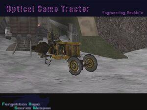 Optical Camo Tractor