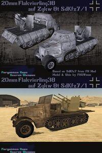 SdKfz7 1Flakvierling