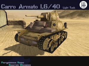 Carro Armato L6-40