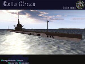 USS Gato class