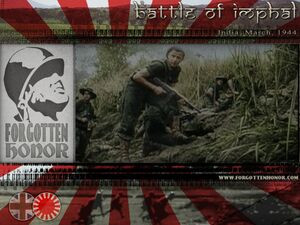 FHT Battle of Imphal 1944