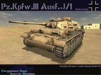 Pzkpfw III Ausf J-1