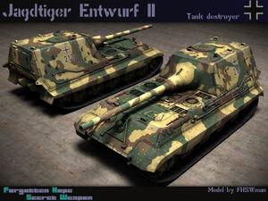Jagdtiger Entwurf II