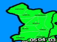 Nova Terria map