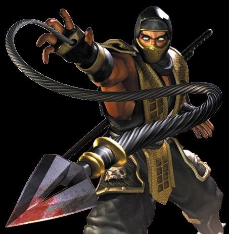 File:Scorpion - Mortal Kombat - Wasterbull Original.png