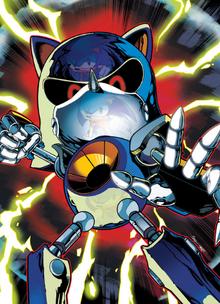 Metal Sonic archie version