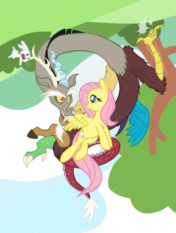 File:Fluttershy and discord best friends 5ever by grandpalove-d5s6xqf.jpg