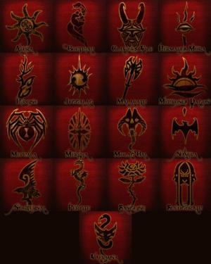 Daedric Princes Elder Scrolls
