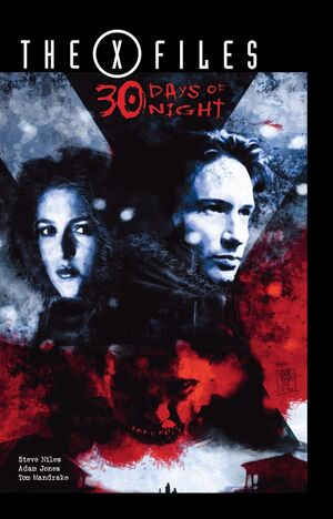 The X-Files 30 days of Night Issue 2 Cover