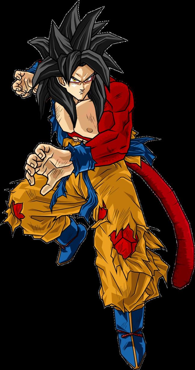 Image Super Saiyan 4 Goku Dragon Ball Z Video Gamespng