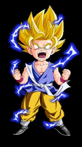 Goku Super Saiyan 2 Dragon Ball GT