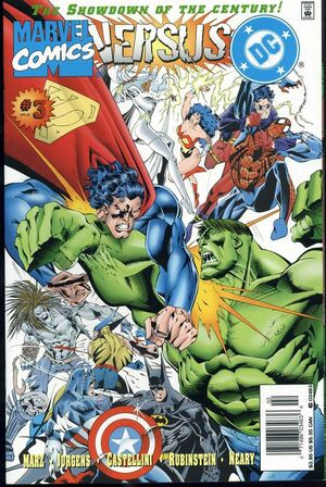 DC Vs Marvel Comics Issue 3 Cover
