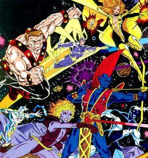 Earth-691 Marvel Comics