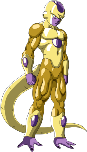 Golden Frieza Dragon Ball Super