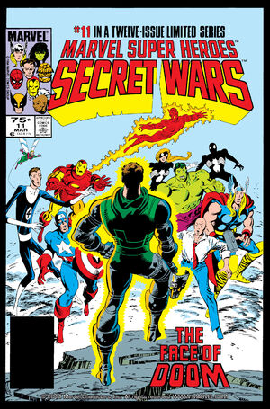 Secret Wars Cover Issue 11