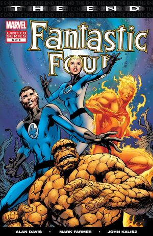 Fantastic Four The End Issue 6 Cover