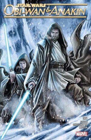 Starwars Obi-Wan & Anakin Skywalker Issue 1 Cover