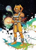 Galactus Earth-616 Marvel Comics