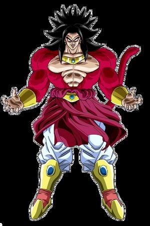 Broly Legendary Super Saiyan 4 Form Dragon Ball