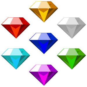 Chaos Emeralds Sonic Games