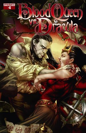 Blood Queen Vs Dracula Issue 4 Cover