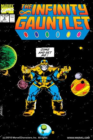 The Infinity Gauntlet Issue 4 Cover