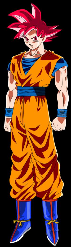 Super Saiyan God Goku Dragon Ball Super