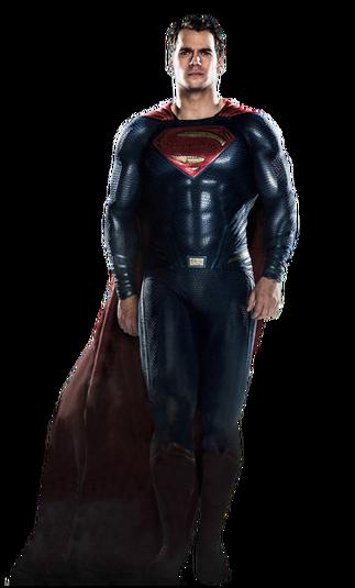 Superman Cavill Render